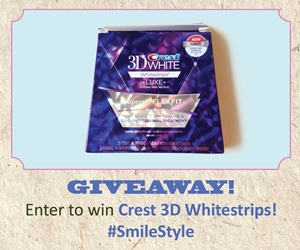 Crest 3D White giveaway 300×250