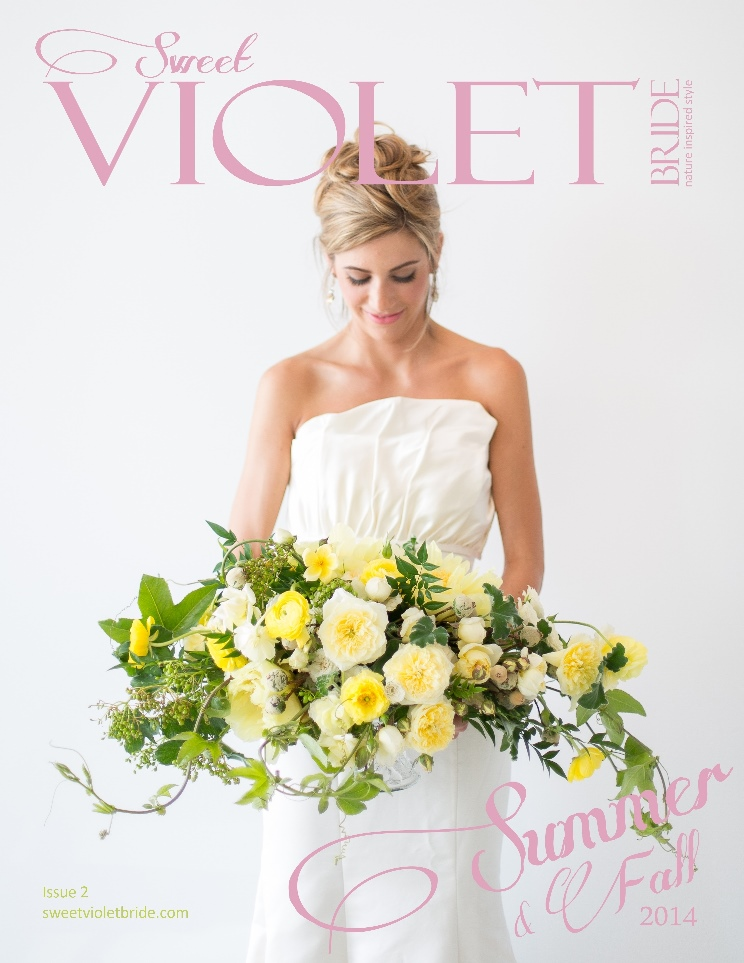Sweet Violet Bride Issue 2 Cover – FB