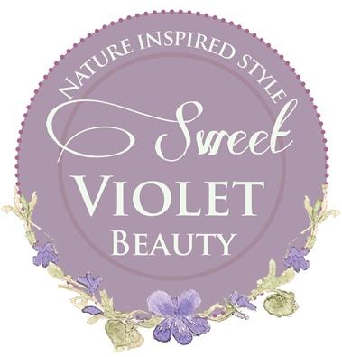 sweet violet beauty badge