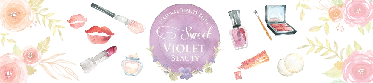 Sweet Violet Beauty watercolor header 2015