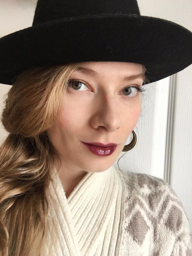 Wearing NuEvolution Cosmetics _ Naomi Farr of Sweet Violet Beauty
