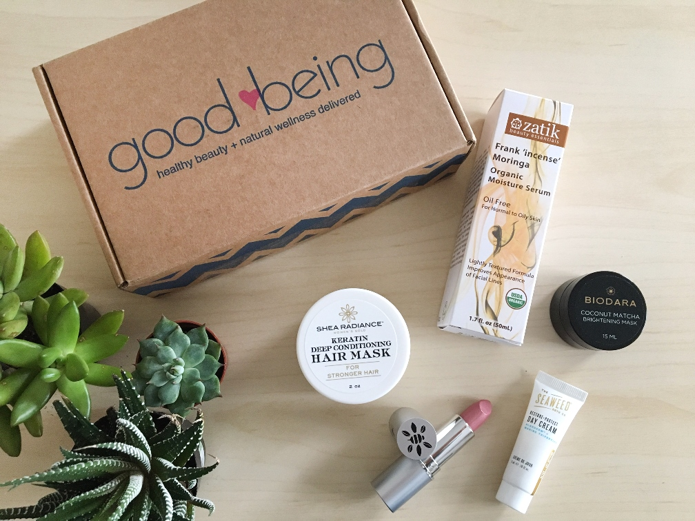 february goodbeing unboxing 2
