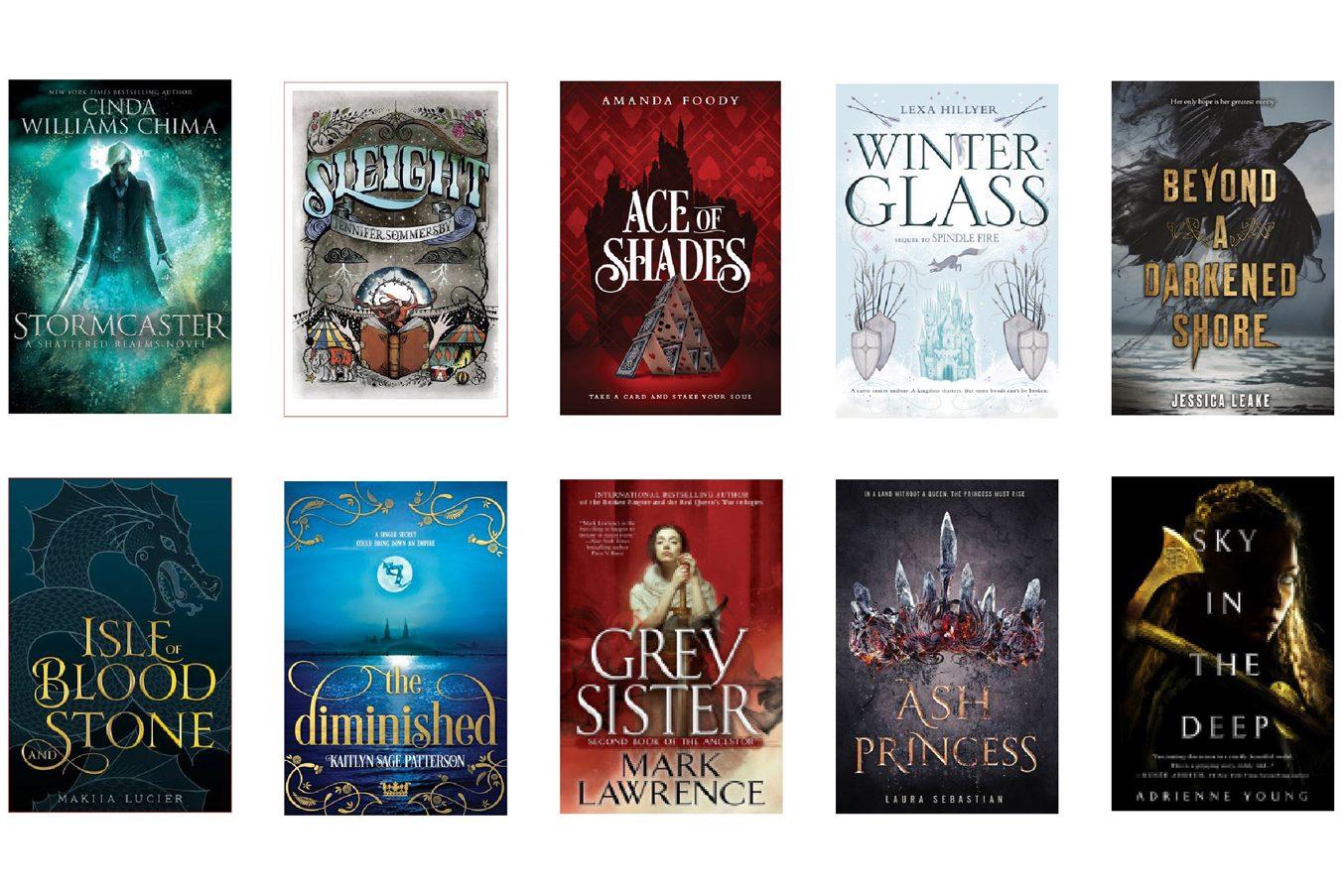 April ya fantasy books in order of release