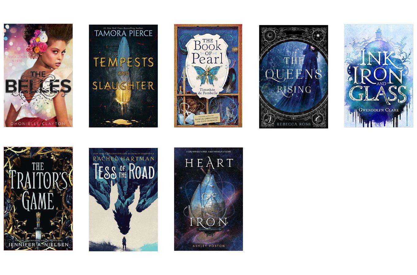 February ya fantasy books in order of release