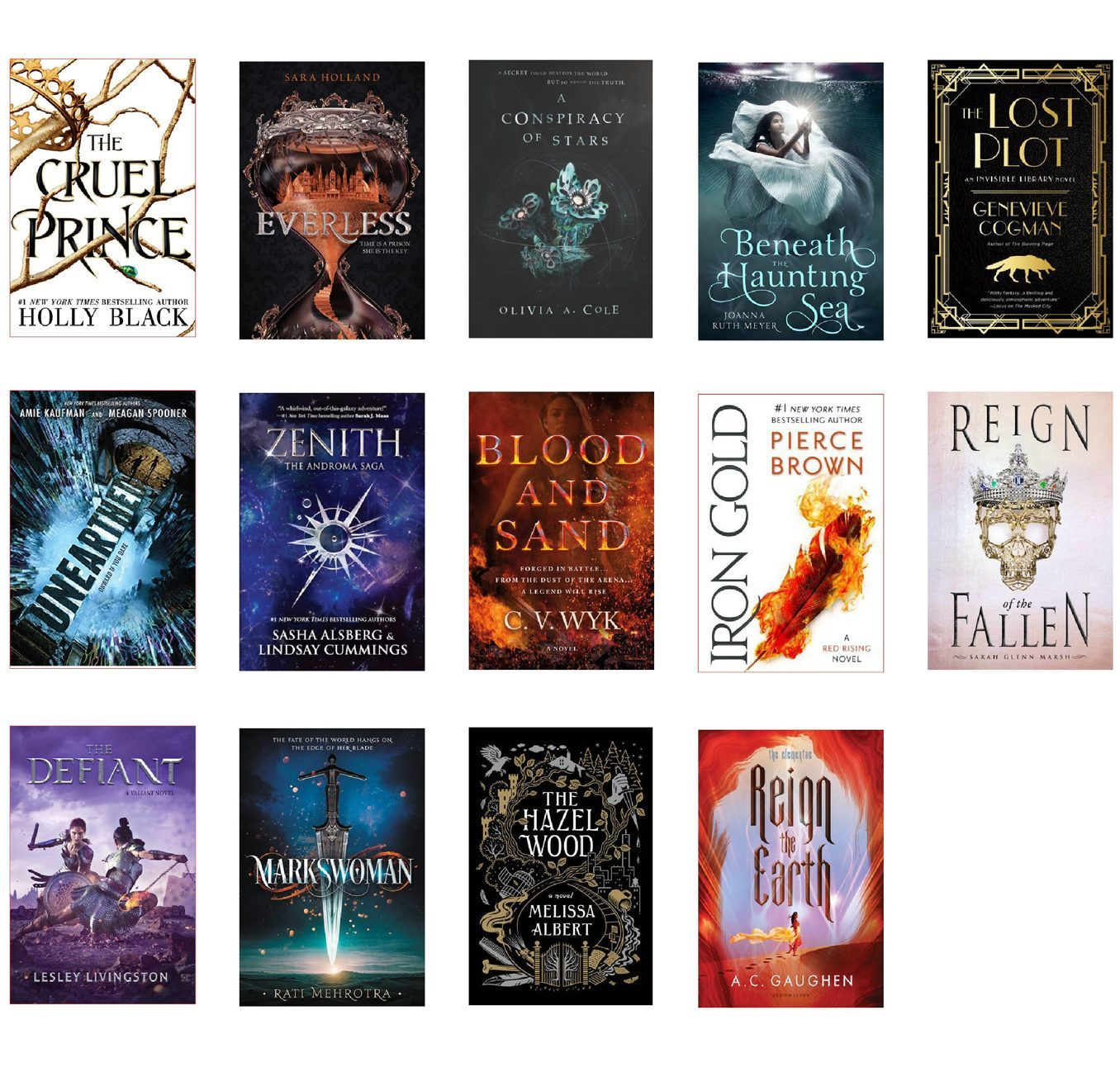 January ya fantasy books in order of release