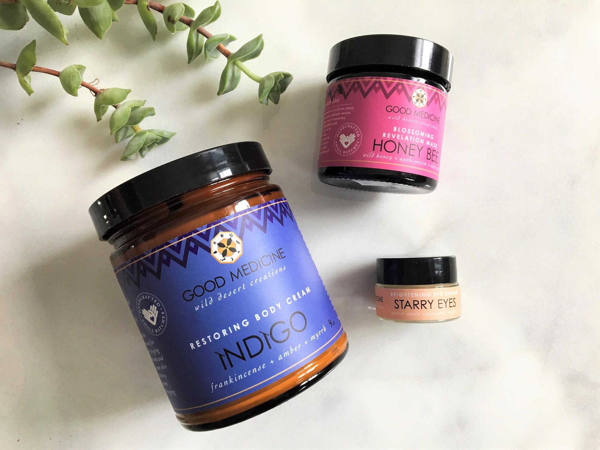 Good Medicine Beauty Lab review – Indigo and Honey Bee