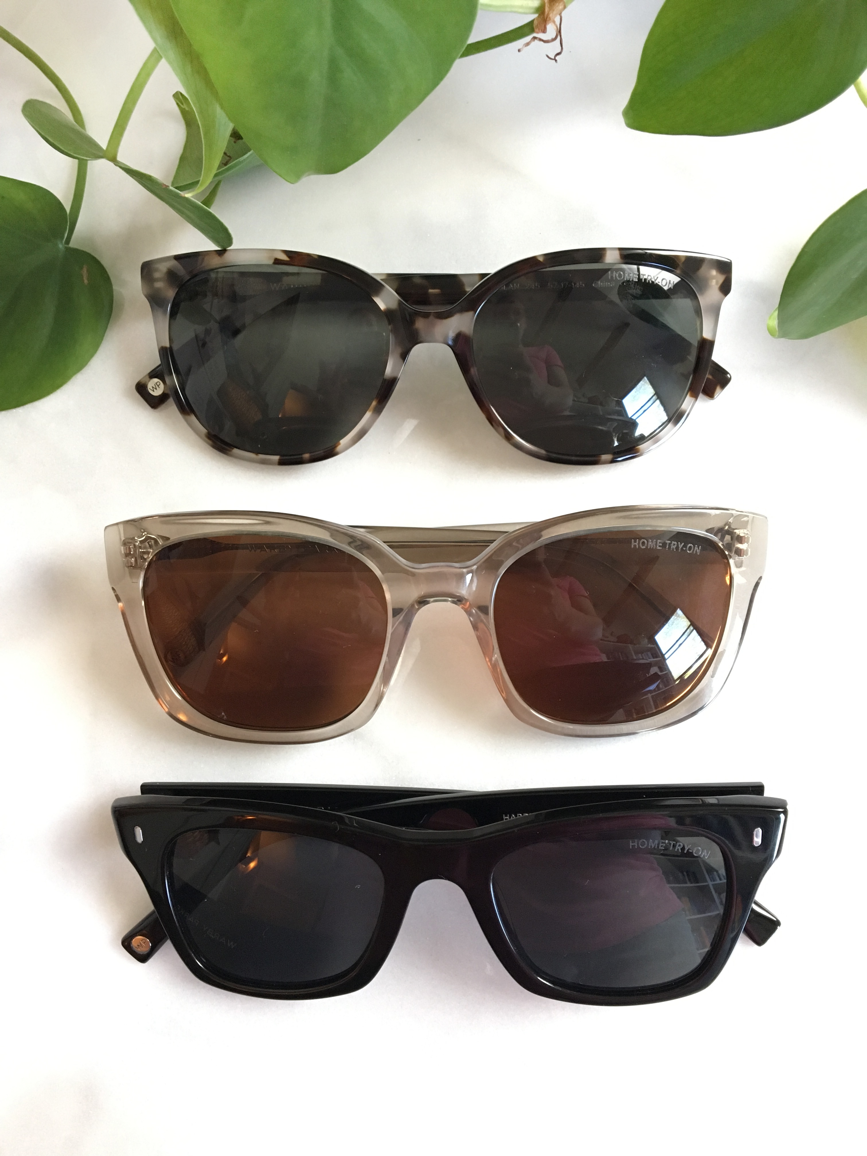 Warby Parker Home Try-On Sunglasses