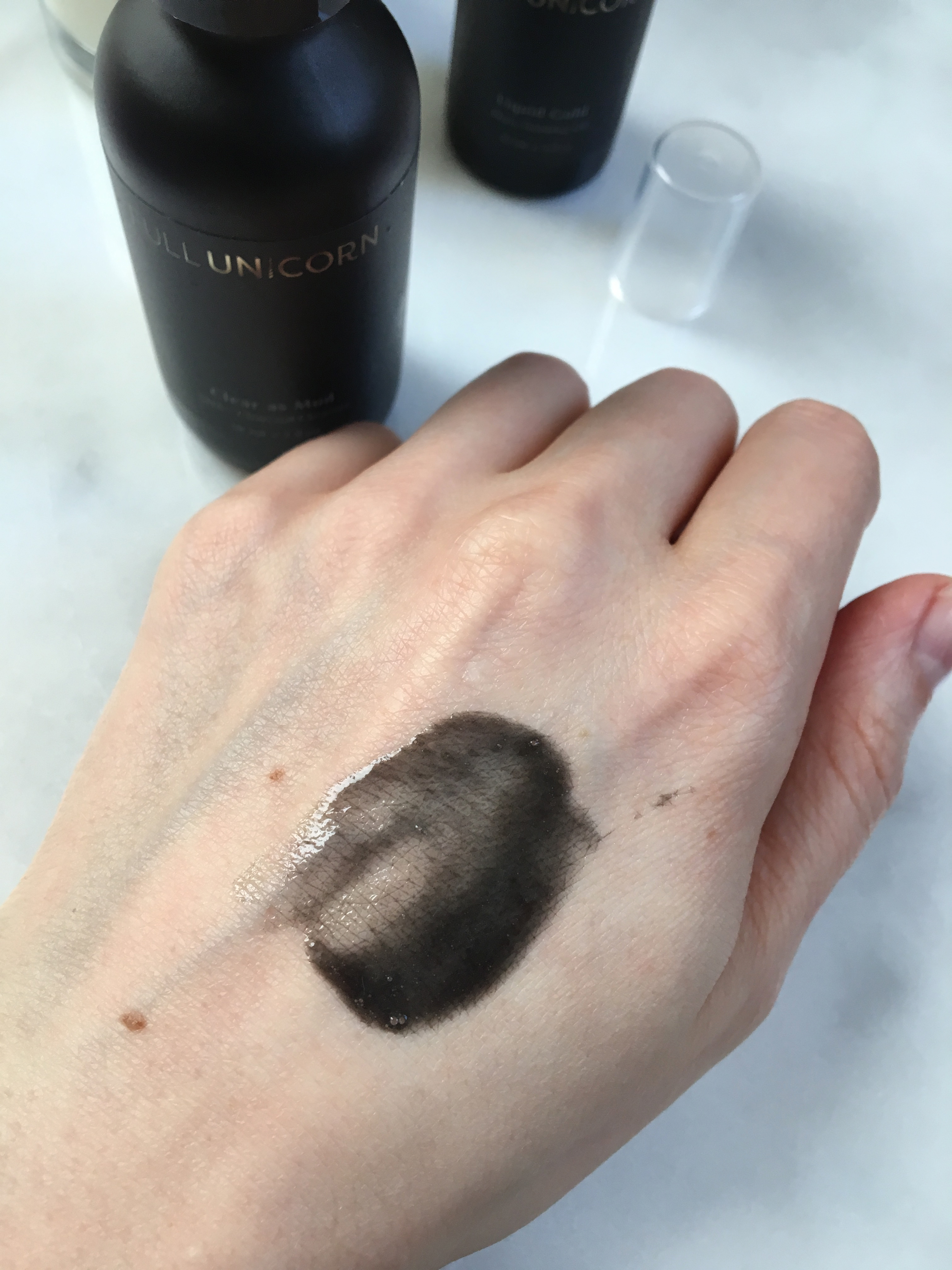 clear as mud charcoal cleanser